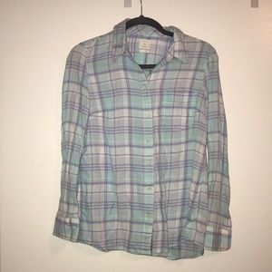 Soft Gap Fitted Boyfriend button down